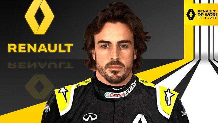 Fernando Alonso vuelve a la Fórmula 1 con Renault en 2021
