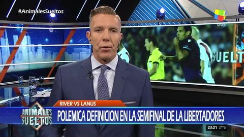 La inesperada reacción de Alejandro Fantino ante la eliminación de River en Copa Libertadores