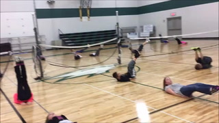 Fifth-grade P.E. Class at Community Christian School