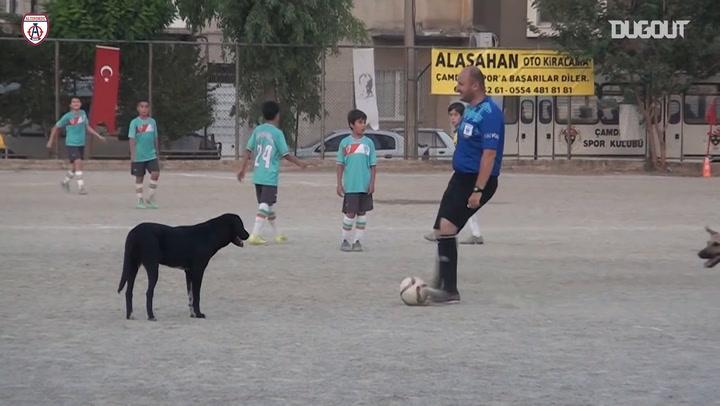 Hilarious Moment 10th İzmir Children's Football Festival