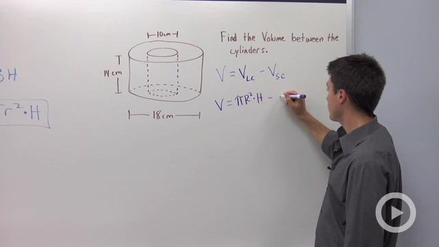 Volume of Cylinders - Problem 3