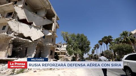 Rusia reforzará denfensa aérea con Siria