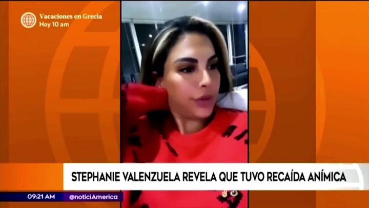 Stephanie Valenzuela promete seguir luchando para salir adelante