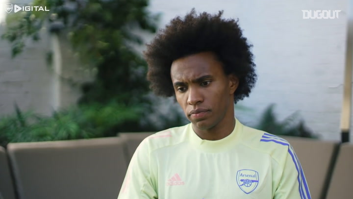 Willian: Martinelli can be a Premier League great