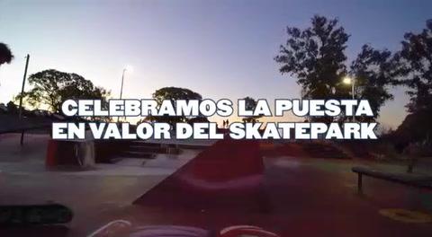 Una vuelta en drone por el skatepark de Concordia