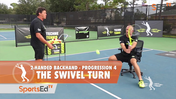 2-Handed Backhand Progression 4 - The Swivel Turn