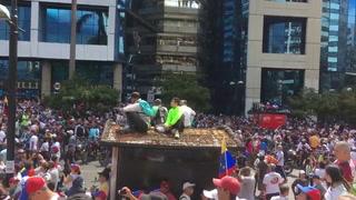 Venezuela se vuelca a las calles para sacar a Nicolás Maduro