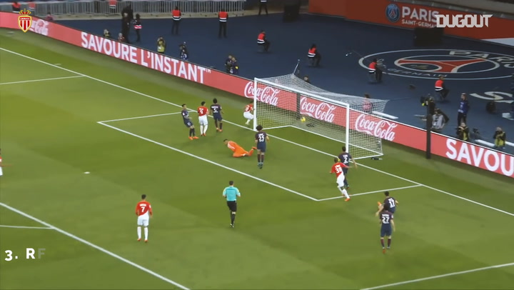 AS Monaco's top three goals vs Paris Saint-Germain