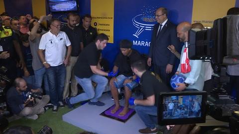 Ronaldinho deja su huella en