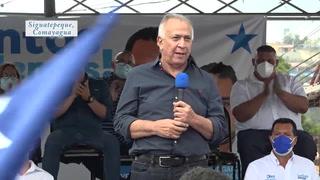 Mauricio Oliva recibe respaldo de nacionalistas en gira política