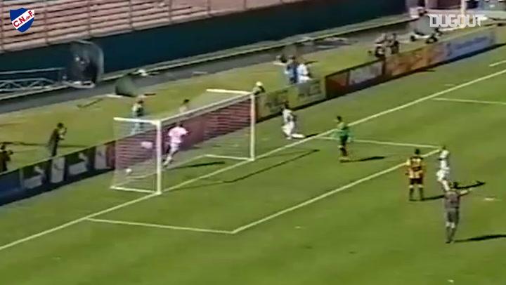 El gol de Nicolás Lodeiro y su famosa celebración en el Clásico Uruguayo