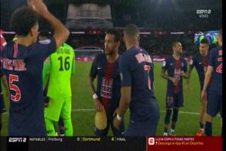 PSG logra su octava liga francesa en el regreso de Neymar