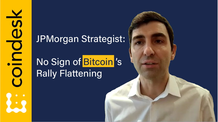 JPMorgan Strategist: No Sign of Bitcoin's Rally Flattening