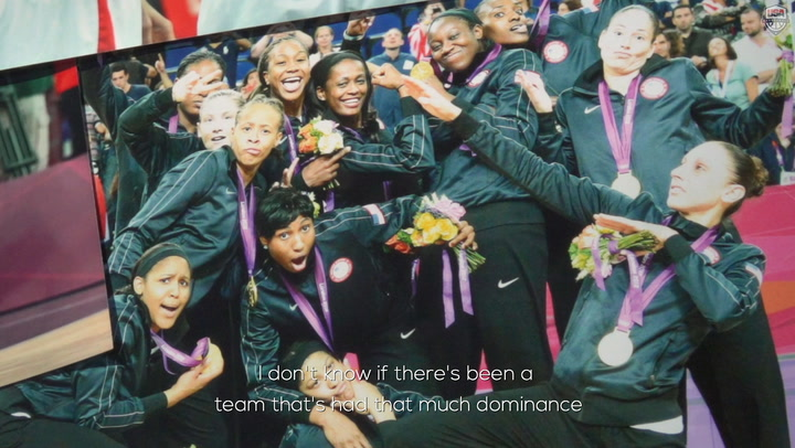 2012: The USA Women's Olympic Team Golden Streak Stretches To Five