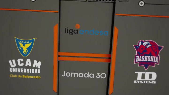Resumen Liga Endesa 2020-21: UCAM Murcia - TD Systems Baskonia (92-87)