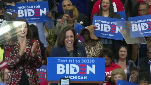 Joe Biden elige a la senadora Kamala Harris como compañera de fórmula