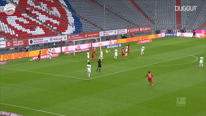 La gran finalización de Leon Goretzka ante el Eintracht