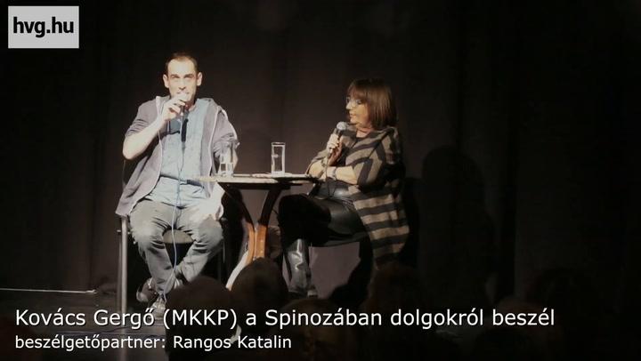 Kovács Gergő dolgokról beszél