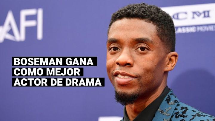 Golden Globes 2021: Chadwick Boseman gana premio póstumo como Mejor actor de película dramática