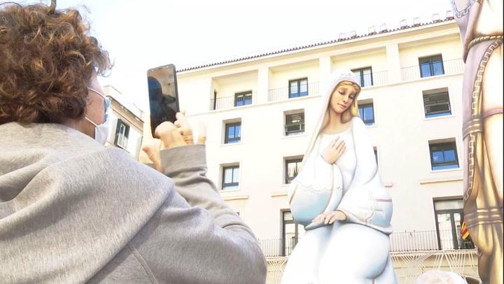 Navidad: España busca romper récord Guinnes con pesebre gigante