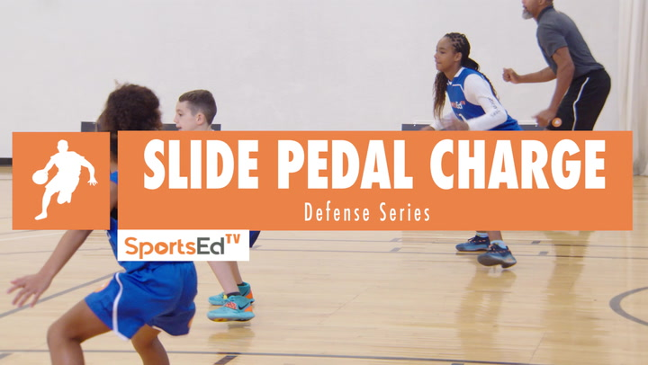 Slide Pedal Charge Defensive Drill