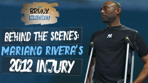 Behind the scenes of Mariano Rivera's season-ending knee injury in 2012
