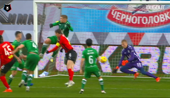 Best saves of week 14 in the Russian Premier League