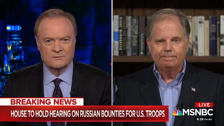 Doug Jones: Intel on Russian Bounties 'a Little Bit Mixed' - Trump Should Get Answers and Take Action If It's True