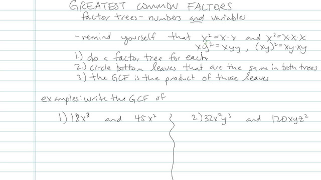 Greatest Common Factors - Problem 8
