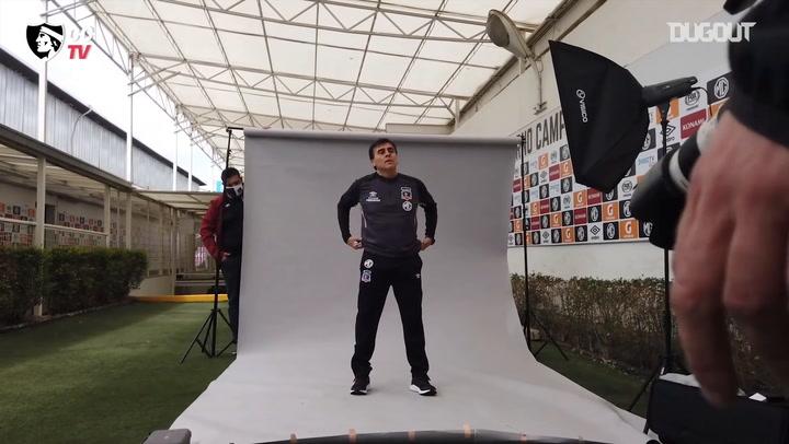 Gustavo Quintero's first day at Colo-Colo