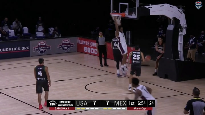 USA-Mexico AmeriCup Qualifying Highlights