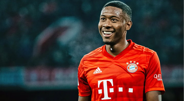 Así es David Alaba, jugador del Bayern de Múnich