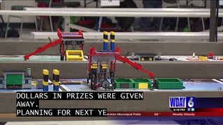Kids discovered new ways to reduce trash by using Legos at UND's Memorial Union