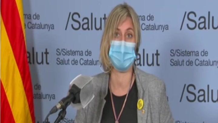 Alba Vergés anuncia que Catalunya no pasará de fase