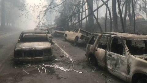 Incendio en California alcanza récord de muertos