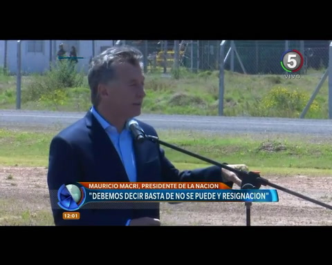Macri: Creyeron que siempre iban a ser días peronistas, pero hoy es un día Cambiemos