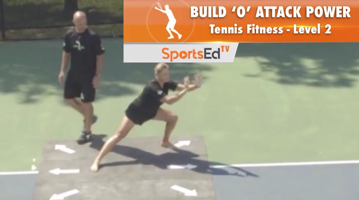"""Tennis Fitness Level 2 / Build """"O"""" Attack Power 2"""