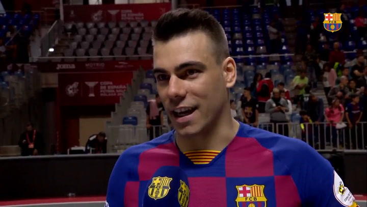 Las palabras de Sergio Lozano tras lesionarse en la Copa de España