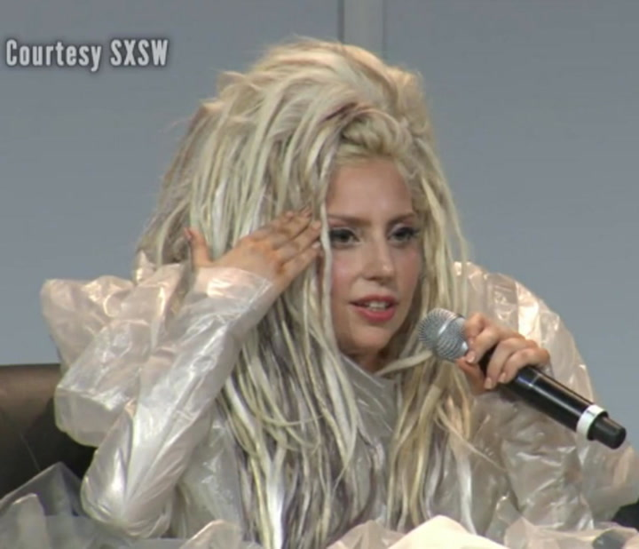 Lady Gaga Talks Being Vomited On, State of Her Career at SXSW Keynote Address - Part 4