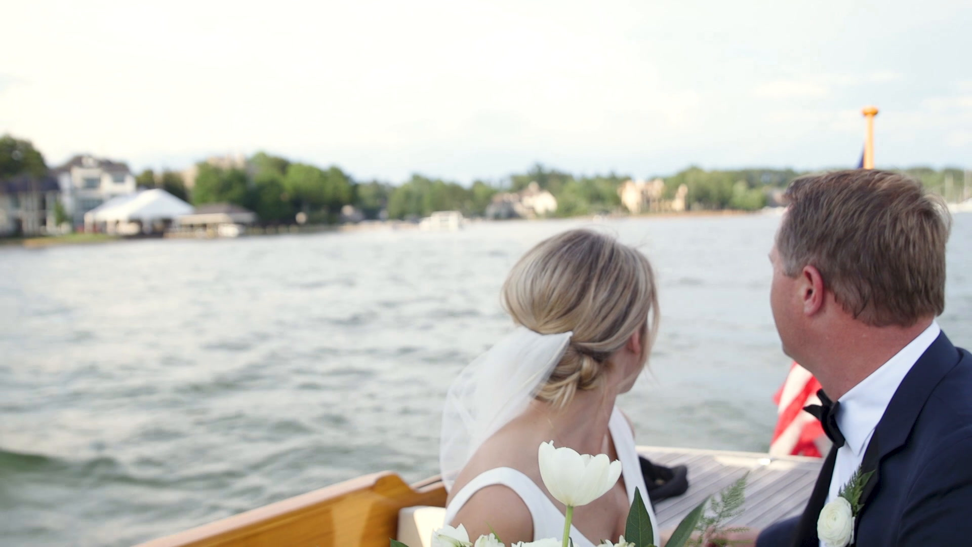 Emily + Jamie | Lake Norman of Catawba, North Carolina | Private Home