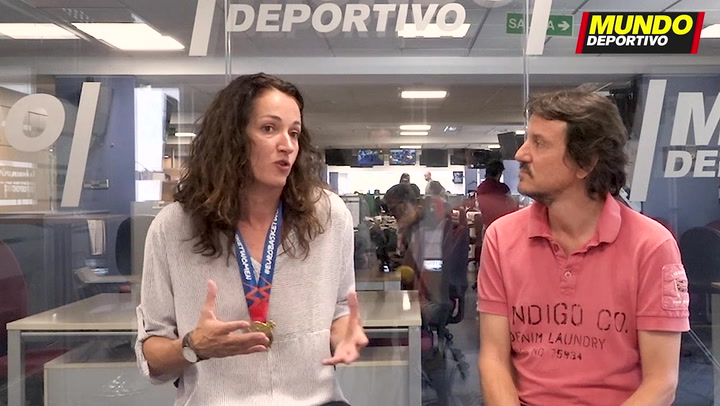 Laia Palau, capitana de las campeonas del Eurobasket femenino, visita MD