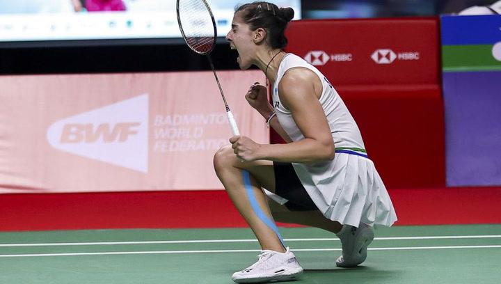 Carolina Marín tumba a la número uno del mundo para ganar el Open de Tailandia