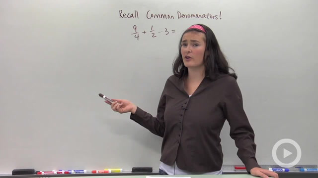 Adding and Subtracting Rational Expression