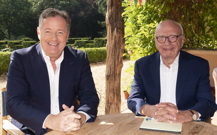 Piers Morgan signs global TV deal with Fox News Media and News Corp