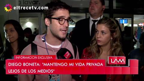 Llegó Diego Boneta y el interrogante es si viene Luis Miguel