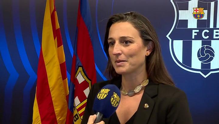 Maria Teixidor defiende por qué Barça TV emitió el Barça-Atlético