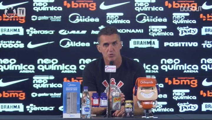 """Mancini: """"O Jô é uma peça fundamental dentro do Corinthians"""""""