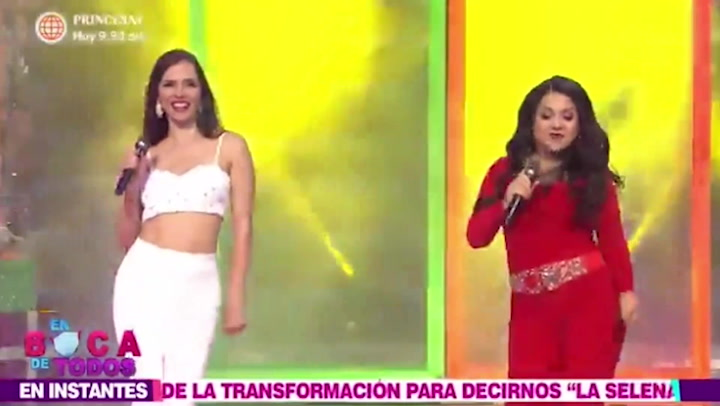 Tula Rodríguez y Maju Mantilla imitan a Selena Quintanilla de esta manera