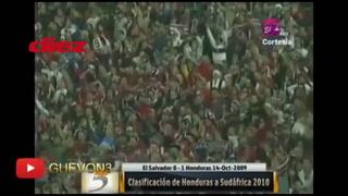 Gonzalo Carías y su recordada narración en el gol de Jonathan Bornstein en 2009