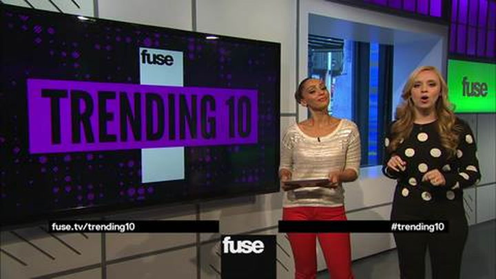 Shows: Trending 10: Tuesday 112712
